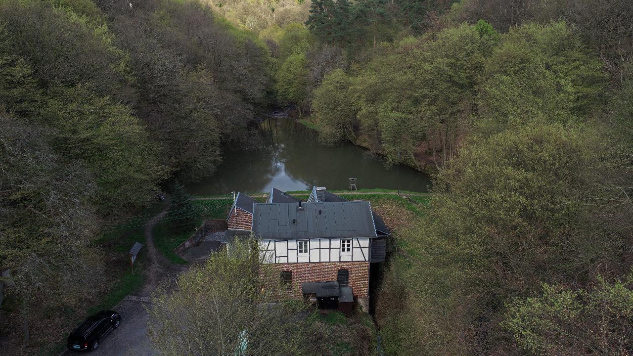 Luftbild des Manuelskottens im Kaltenbachtal